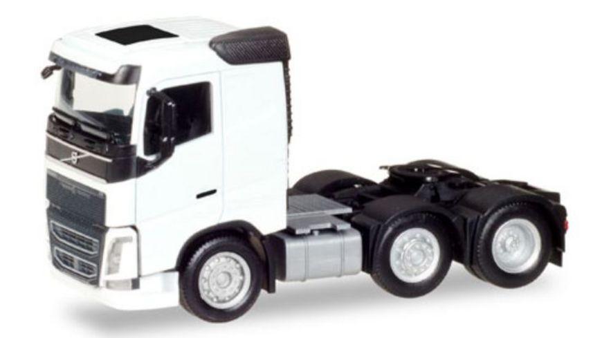 Herpa 308724 Volvo FH 6x2 Zugmaschine weiss