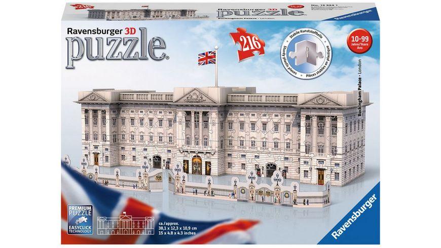 Ravensburger Puzzle 3D Puzzles Buckingham Palace 216 Teile