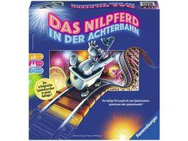 Ravensburger Spiel Das Nilpferd in der Achterbahn