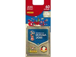 Panini FIFA World Cup Russia 2018 Blister mit 12 Tueten