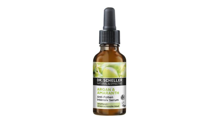 Dr. Scheller Arganöl & Amaranth Anti Falten Serum