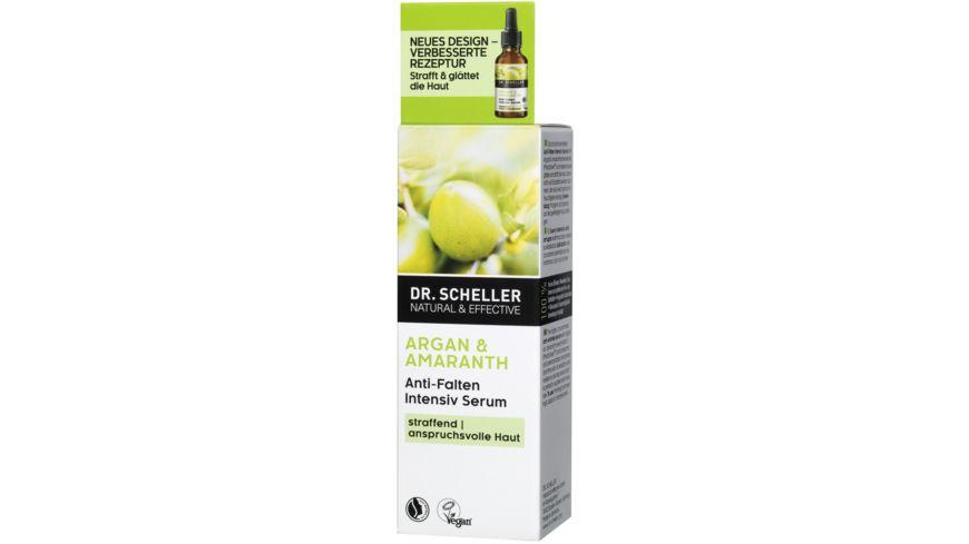 Dr Scheller Arganoel Amaranth Anti Falten Serum
