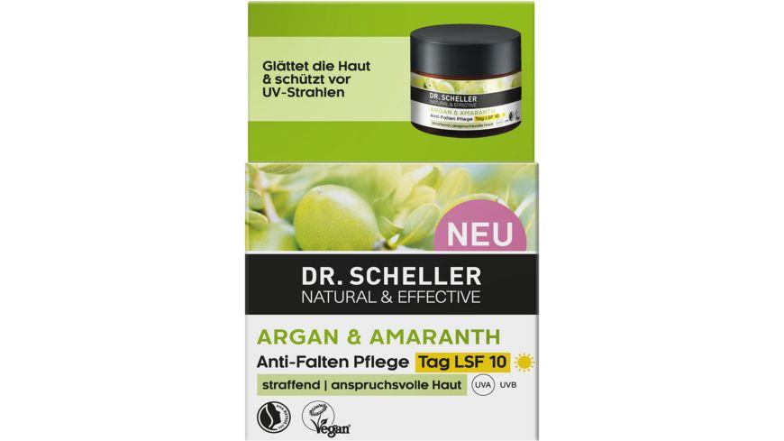 Dr Scheller Arganoel Amaranth Anti Age Tagespflege LSF 10