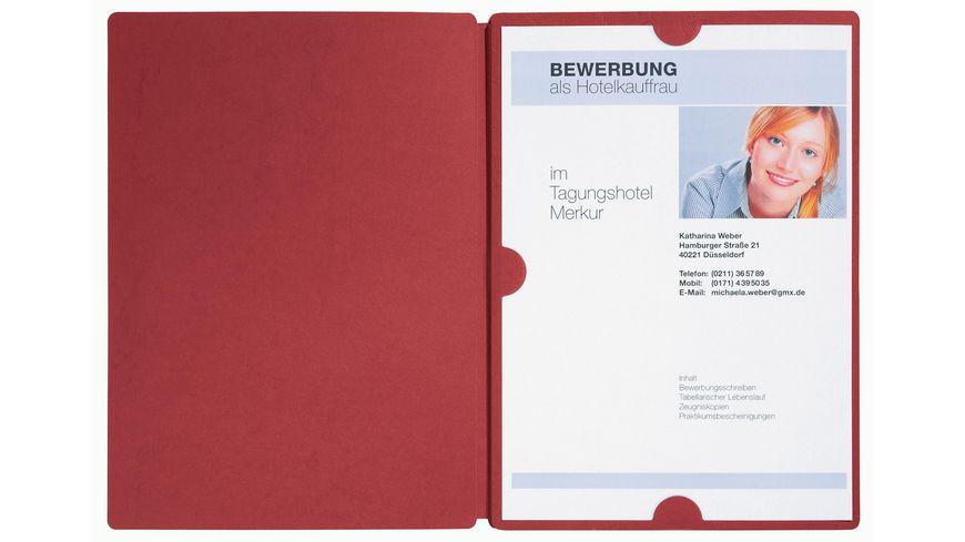 pagna bewerbungsmappe swing rot - Muller Online Bewerbung