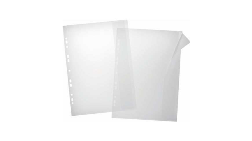 PAGNA Dokumentenhuelle mit Klappe 5er Pack 21 5x33cm