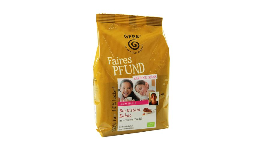 GEPA Bio Instant Kakao faires Pfund