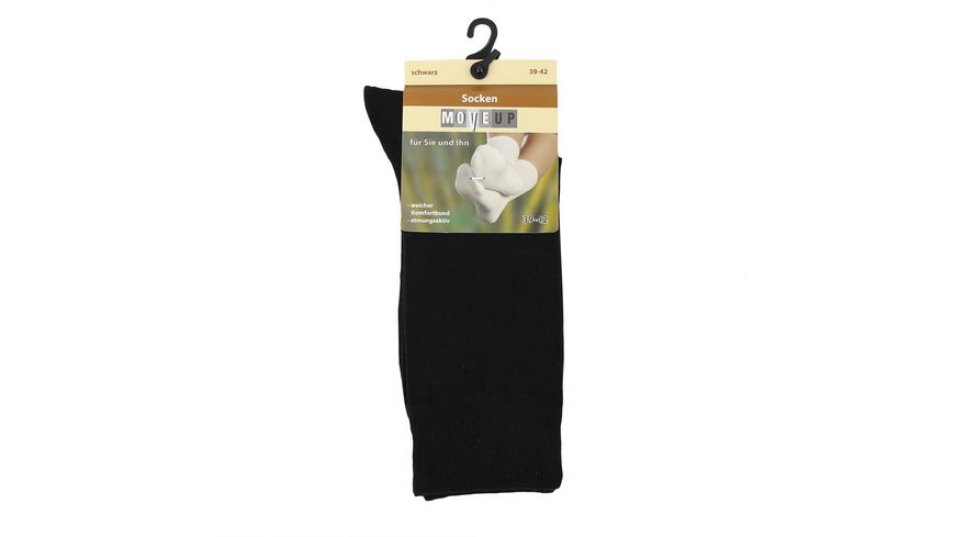 MOVE UP Socken unisex Viskose