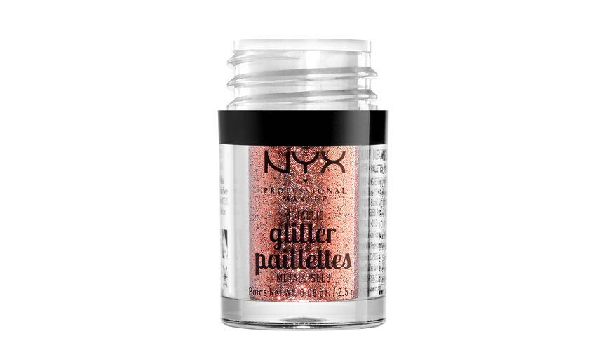 NYX PROFESSIONAL MAKEUP Glitzer Metallic Glitter