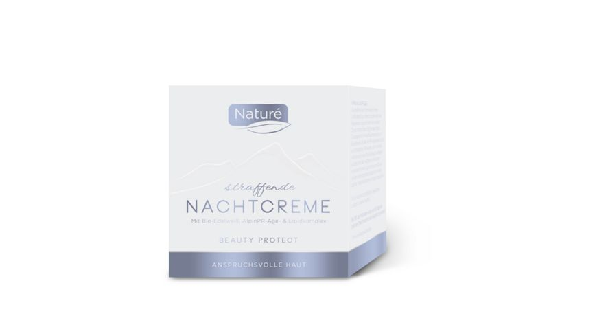 Naturé straffende Nachtcreme Beauty Protect