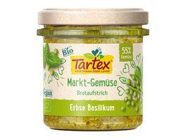 Tartex Marktgemuese Erbse Basilikum
