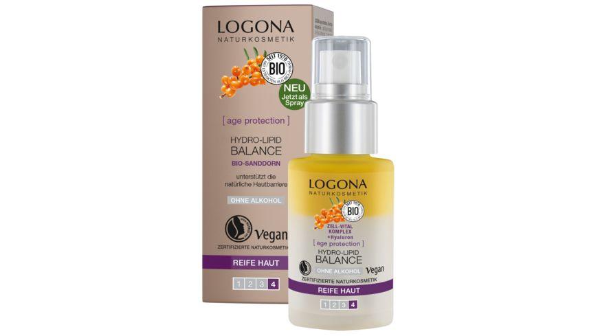LOGONA age protection Hydro Lipid Balance
