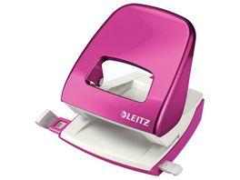 LEITZ Locher New Nexxt Mini pink
