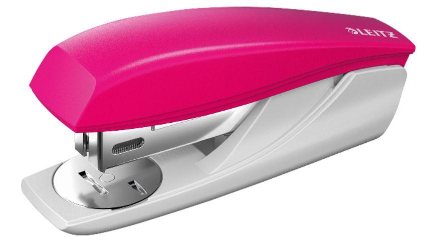 LEITZ NeXXt Kleines Büroheftgerät, 25 Blatt, pink