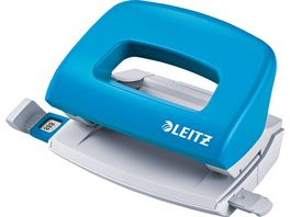 LEITZ Locher New Nexxt Mini hellblau