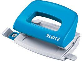 LEITZ NeXXt Mini Locher 5058 10 Blatt hellblau