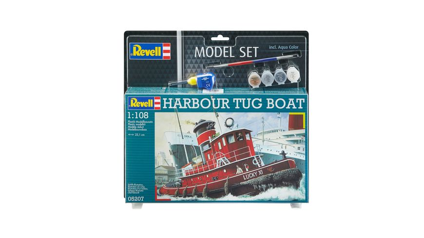 Revell 65207 Model Set Harbour Tug Boat