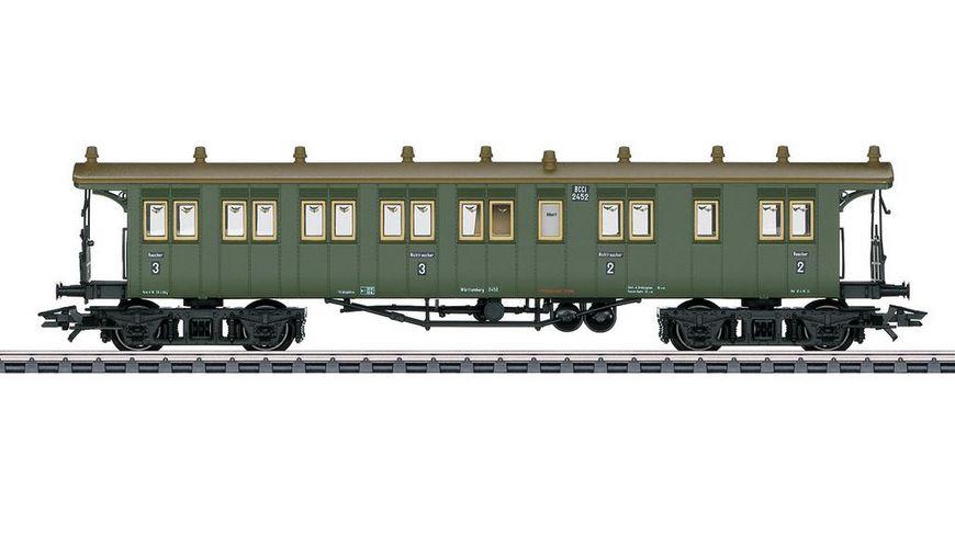 Maerklin 42104 Wuerttembergischer Reisezugwagen BCCI