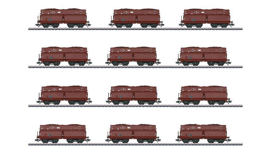 Maerklin 46230 Selbstentladewagen Set mit 12 Wagen OOt Saarbruecken Erz Iid