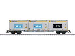 Maerklin 47459 Containertragwagen Sgnss