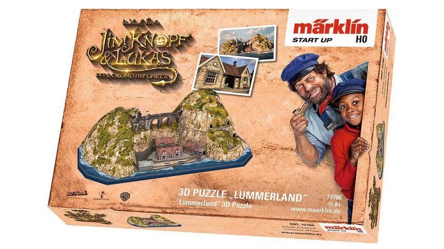 Maerklin 72786 Maerklin Start up 3D Puzzle Lummerland
