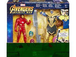 Hasbro Avengers 6 Thanos Battle Set