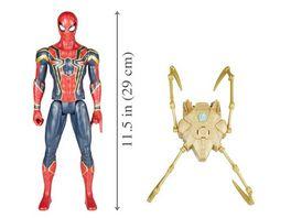 Hasbro Avengers Titan Hero Power FX Spider Man mit Power FX Pack