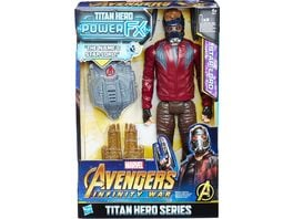 Hasbro Avengers Titan Hero Power FX Star Lord mit Power FX Pack
