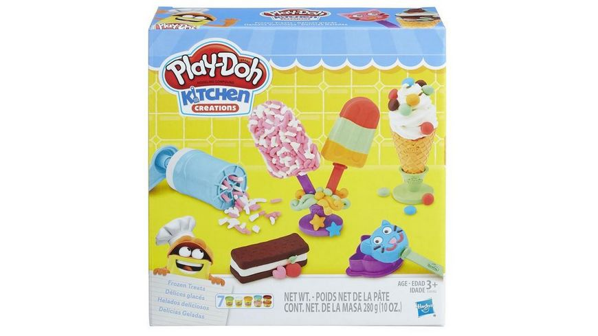 Hasbro Play Doh Kleiner Eissalon