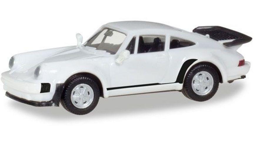 Herpa 013307 Herpa MiniKit Porsche 911 Turbo weiss