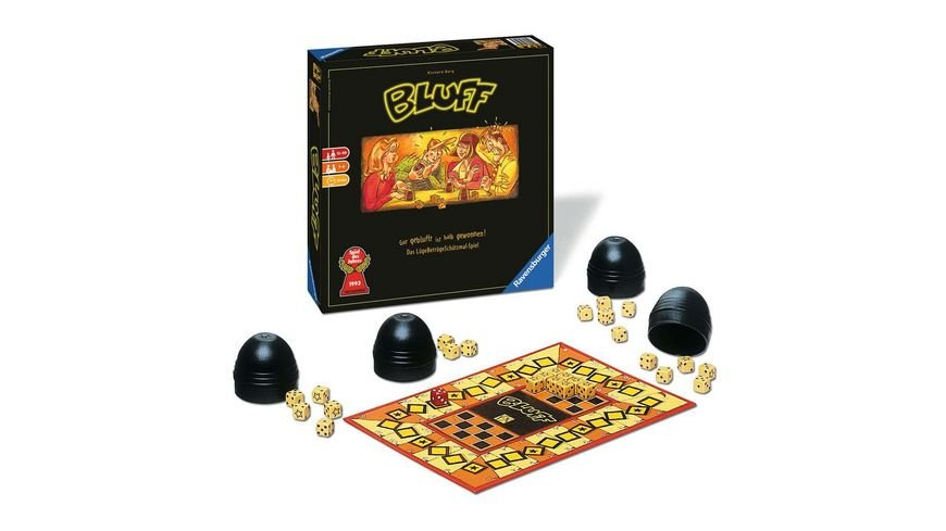 Ravensburger Spiel Bluff Jubilaeumsausgabe