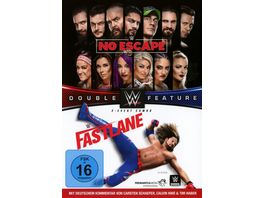 No Escape 2018 Fast Fastlane 2018 Double Feature 2 DVDs