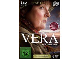 Vera Ein ganz spezieller Fall Staffel 7 4 DVDs