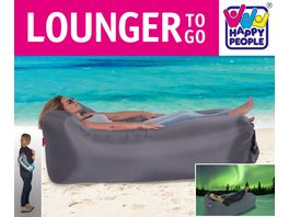 Happy People LOUNGER TO GO Grau