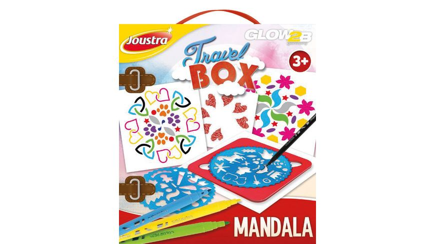 GLOW2B Joustra Travel Box Mandala