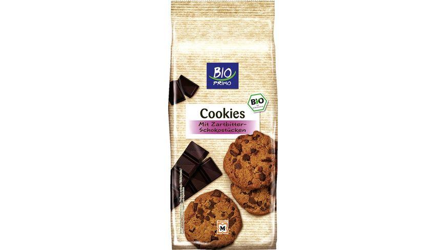 BIO PRIMO Cookies mit Zartbitter Schokostuecken