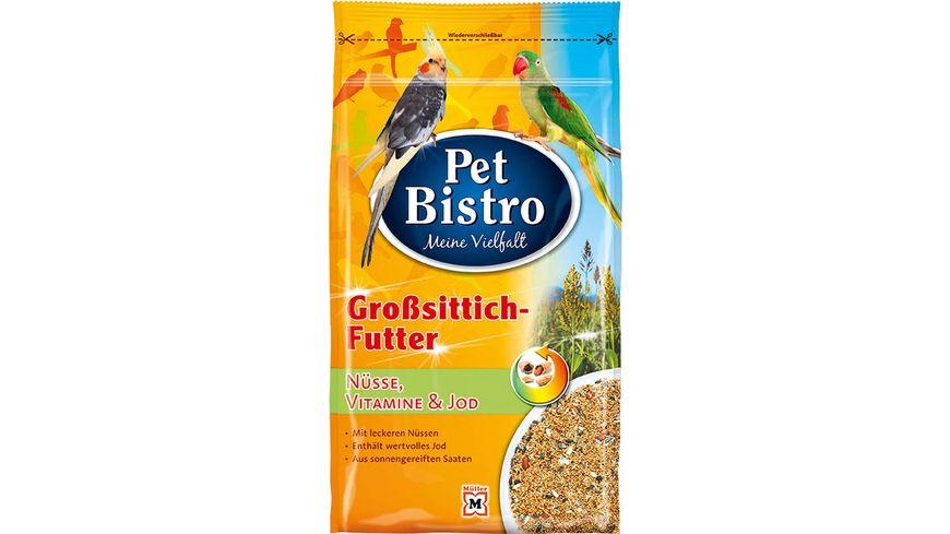 Pet Bistro Grosssittichfutter mit Nuessen