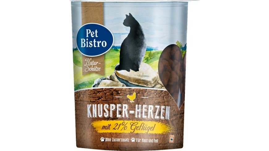 Pet Bistro Katzensnack Knusper Traum mit Gefluegel
