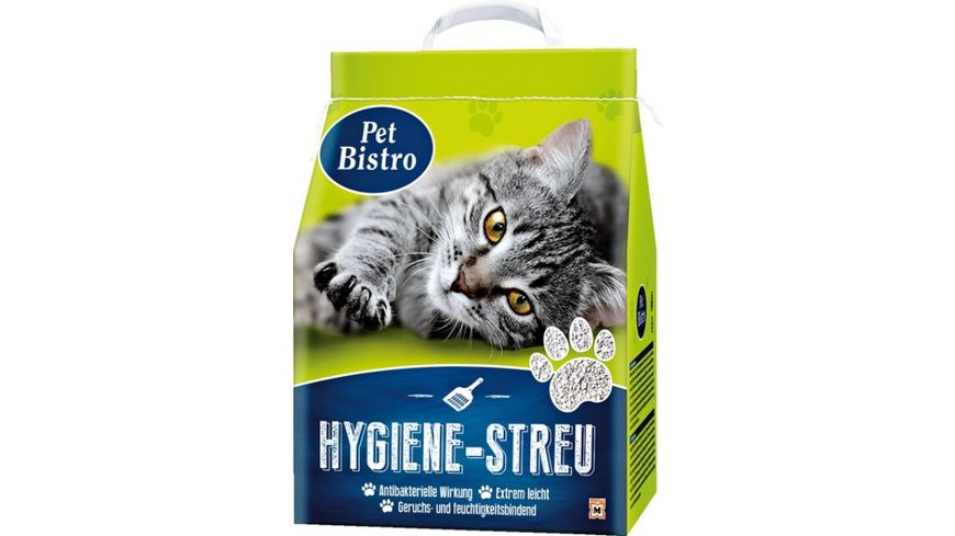 Pet Bistro Hygiene Streu fuer Katzen