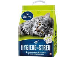 Pet Bistro Hygiene Streu fuer Katzen 10L