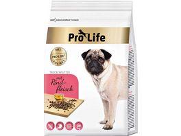 Pro Life Hundetrockenfutter mit Rindfleisch