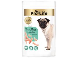 Pro Life Hundesnack Pure Meat Quickies mit Huhn