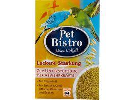 Pet Bistro Leckere Staerkung fuer Sittiche Kanarien und Exoten
