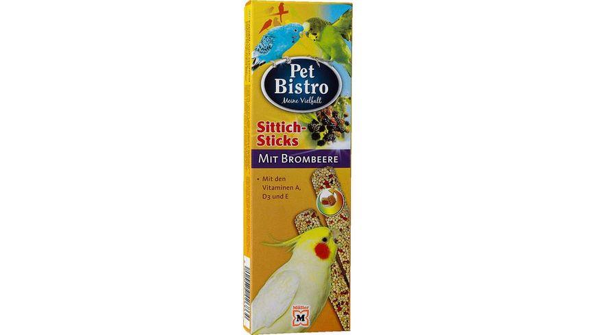 Pet Bistro Sittich Sticks mit Brombeere