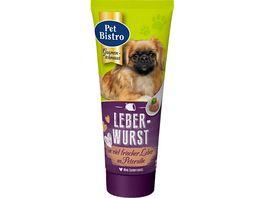 Pet Bistro Hundesnack feinste Leberwurst