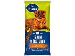 Pet Bistro Hundesnack Mini Wuerstchen mit Truthahn