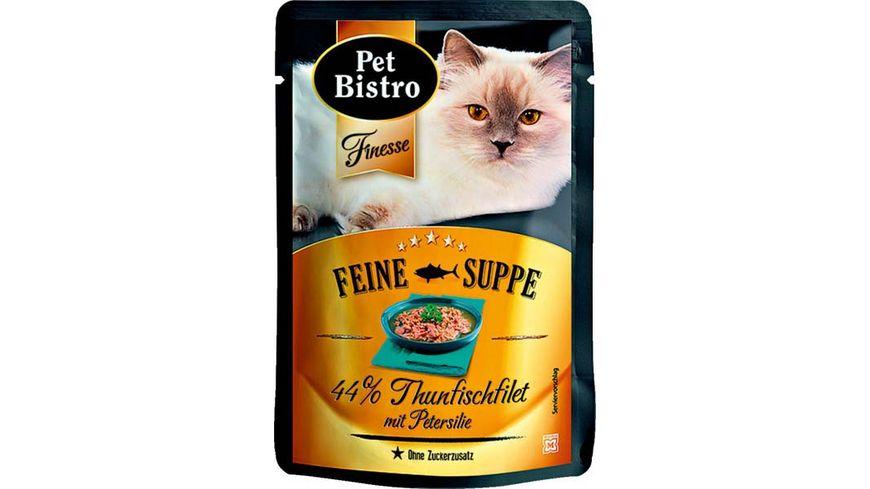 Pet Bistro Feine Suppe Thunfischfilet mit Petersilie