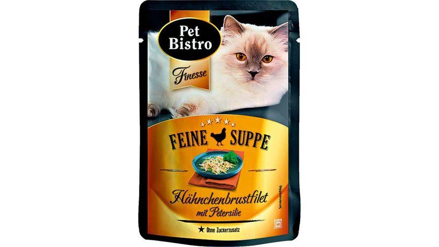 Pet Bistro Feine Suppe Haehnchenbrustfilet mit Petersilie