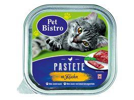 Pet Bistro Katzennassfutter Pastete mit Huhn