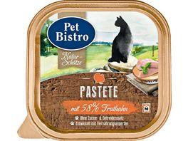 Pet Bistro Katzennassfutter Naturschaetze Saftige Stuecke mit Truthahn