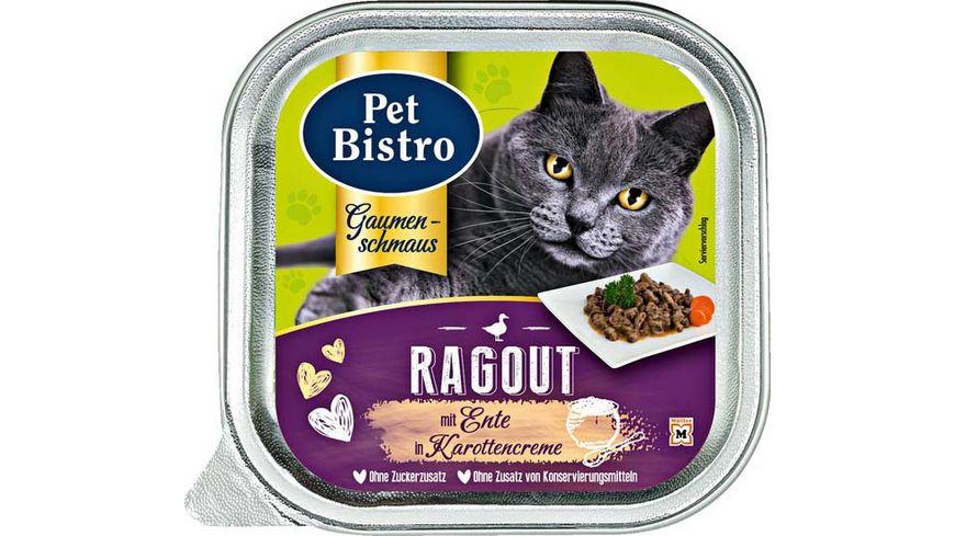 Pet Bistro Katzennassfutter Ragout mit Ente in Karottencreme